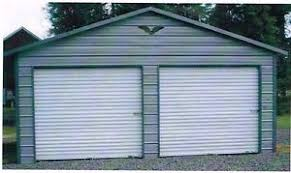 Steel Car Port Two Car Metal Garage 24x21x8 All Steel Carport Free Delivery And