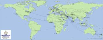 Icelandair Route Map by Simairline Net Routes