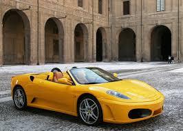ferrari yellow ferrari f430 spider yellow colour car pictures images