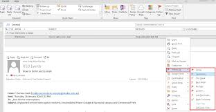 What Is Flagged Email How To Follow Up Categorise And Move Emails Outlook For Windows