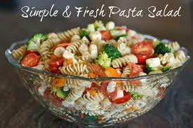 What Is Pasta Salad Simple U0026 Fresh Pasta Salad Addicted 2 Diy
