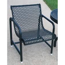 mosaic steel mesh spring rocker set metal patio chairs a