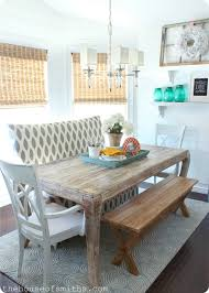 sofa bench for dining table 10 eye catching accent walls cottage style settees and side chair