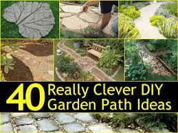 Diy Backyard Garden Ideas 40 Really Clever Diy Garden Path Ideas