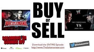 buy or sell sting vs undertaker or undertaker vs john cena wm