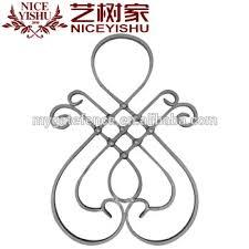 wrought iron gate ornaments cast steel parts garden iron gate