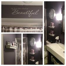 Powder Room Towels Love My Purple And Silver Bathroom Master Bath Pinterest