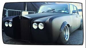 stanced rolls royce yes this is a rolls royce silver shadow drift car youtube