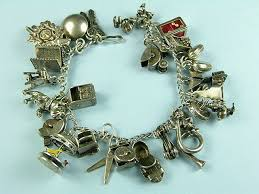 vintage charm bracelet charms images Vintage sterling silver charm bracelets we are currently obsessed with jpg