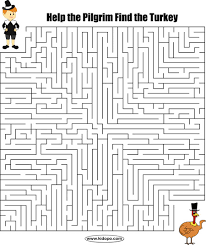 printable hard maze games thanksgiving maze fall thanksgiving pinterest maze