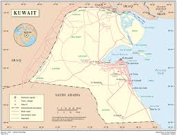 kuwait on a map kuwait international organization for migration