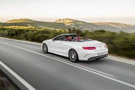 2017 mercedes benz s class cabriolet opens up in first official photos