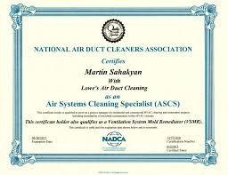ascs certificate yelp