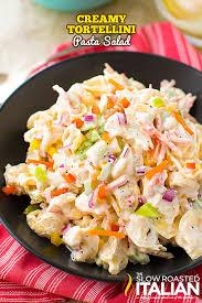 creamy pasta salad recipe creamy tortellini pasta salad