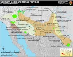 Southern Mexico Map by Nps Explore Nature Geologic Resources Education Concepts
