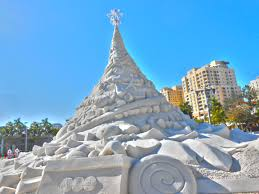 sandy christmas tree sosparkly design
