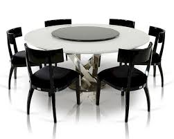 black lacquer dining room chairs dining set w crocodile lacquered table w lazy susan 44d833 180 set