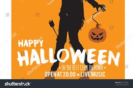 halloween 1978 background halloween orange stock vector 487118680 shutterstock