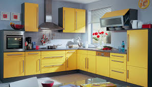 yellow kitchen cabinets with grey walls kitchen exitallergy