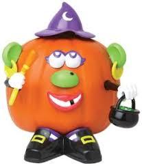 Mr Mrs Potato Head Halloween Pumpkin Push in Kits No Carving
