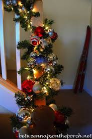 Decorating Banisters For Christmas Decorate Your Banister For Christmas
