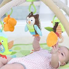 amazon com skip hop baby treetop friends activity gym playmat