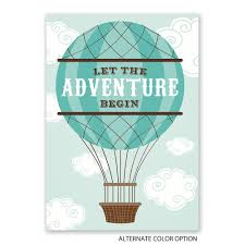 an adventure baby shower invitation invitations by dawn