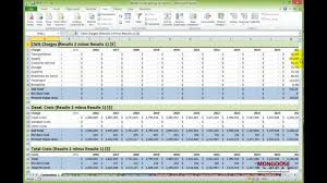 Exle Of Data Analysis Report by Advanced Excel Modeling Professional Data Analysis In Excel