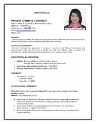 Sample Resume Templates Pdf and writing download mr resume formats and examples resume format