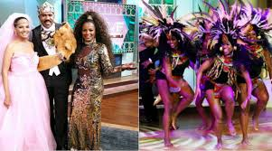 halloween show steve harvey stages u0027coming to america u0027 reunion for an epic halloween