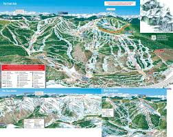 Colorado Ski Area Map by Luxury Hotels Vail Oxford Ski