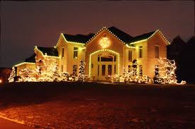 double outside li for tree decoration ideas in red lights on house
