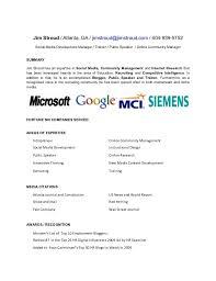 sample social media resume breathtaking cute resume templates 5