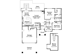 House Plans With Vaulted Great Room European House Plans Stonechase 11 133 Associated Designs