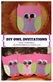 Free Invitation Birthday Cards Best 25 Owl Invitations Ideas On Pinterest Owl Birthday