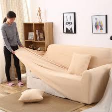 housse canap simili cuir mode jacquard housse de canapé imitation cuir élasticité stripe