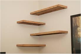 teak wall mounted shelves