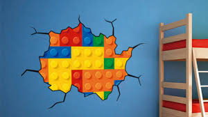 lego decor wall stickers youtube