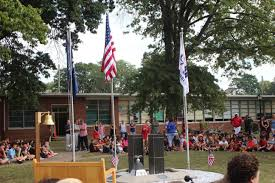 Nj Flags Half Staff South Plainfield Middle Holds September 11th Remembrance