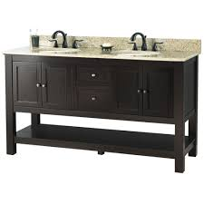 Foremost Gazette  In W X  In D Double Bath Vanity In - Home depot bathroom vanity granite