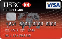 Sle Of Credit Card Statement by Credit Cards Hsbc Uk