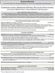 Marketing Intern Resume Sample by Interesting Resume Examples For College Students