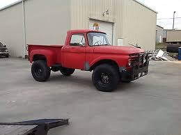 used ford work trucks for sale 1966 ford f250 4x4 stepside 4wd cool vintage work truck 3 4