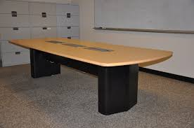 10 x 4 conference table 10 x 4 conference table w power used office furniture dallas