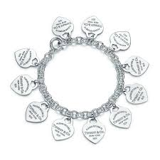 tiffany silver bracelet with heart images Shop bracelets for women tiffany co
