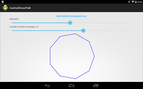 polygon amazon black friday android er draw path of polygon on canvas of custom view