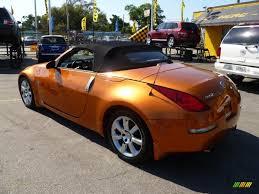 Nissan 350z Orange - 2004 nissan 350z touring roadster in le mans sunset metallic photo