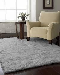 Silver Grey Rug District17 Flokati Standard Rug In Natural Grey Shag Rugs Solid