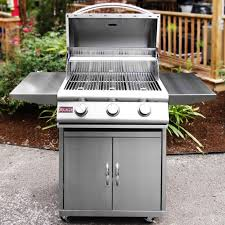 Backyard Grill 3 Burner Gas Grill by Blaze 25 Inch 3 Burner Freestanding Propane Gas Grill Blz 3 Lp