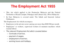 light duty at work rules malaysian labour laws presentation